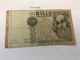Italy Marco Polo Banknote 1000 Lire 1982 #11 - [ 1] …-1946 : Regno