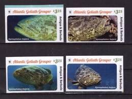 Antigua Barbuda, 2016. Marine Fauna, WWF (imperf) - W.W.F.