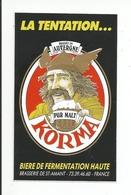 63 - SAINT AMANT TALLENDE - Brasserie Bière Korma ( Autocollant ) - Adesivi