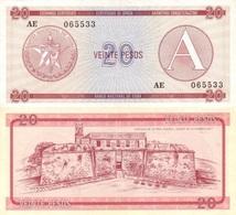 CUBA 20 Pesos ND (1985) P - FX - 5 Series A UNC - Cuba