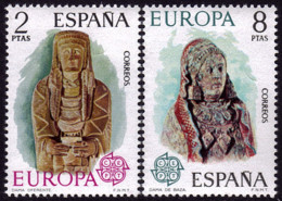 Espagne - Europa CEPT 1974 - Yvert Nr. 1829/1830 - Michel Nr. 2072/2073 ** - 1974