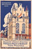 BRUXELLES - Exposition 1935 - Vieux Bruxelles, Place Des Bailles - Palais Des Ducs De Brabant - Universal Exhibitions