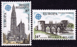 Belgique - Europa CEPT 1978 - Yvert Nr. 1886/1887 - Michel Nr. 1943/1944  ** - 1978