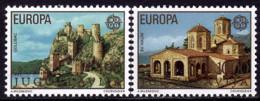 Yougoslavie- Europa CEPT 1978 - Yvert Nr. 1607/1608 - Michel Nr. 1725/1726  ** - 1978