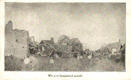 Wie Es In Langemarck Aussieht Langemark 1914/15  WWI WWICOLLECTION - Langemark-Poelkapelle