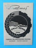 ZMAJ - Yugoslav Farm Machinery Old Brochure * Agricultural Machine Landmaschinen Machines Agricoles Macchinari Agricoli - Tractors