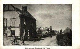 Allemande- Das Zerstörte Zandvoorde Bei Ypern  1914/15  WWI WWICOLLECTION - Belgique