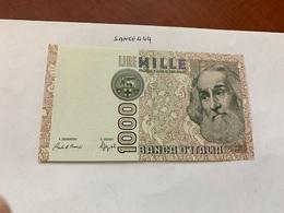 Italy Marco Polo Banknote 1000 Lire 1982 #16 - [ 1] …-1946: Königreich