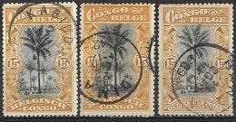 0Ra-800: N° 56: 3x... - Congo Belga