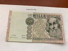 Italy Marco Polo Banknote 1000 Lire 1982 #21 - [ 1] …-1946: Königreich
