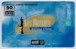 INTERCALL  - 50 Unités- Elf Les Mercure Reflexe Client - Tirage : Limité - Code Non Gratté - Voir Scans - France