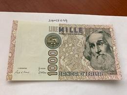Italy Marco Polo Banknote 1000 Lire 1982 #23 - [ 1] …-1946: Königreich