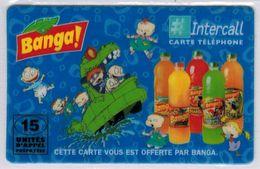 INTERCALL  - 15 Unités - Banga - Tirage : 1.000 Ex - Code Non Gratté - Voir Scans - Francia