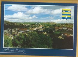C.P.M. HAUTE-KONTZ - Village Avec Eglise Saint-Hubert - France
