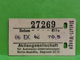 Aktiengesellschaft Berlin-Neukolln 1942 - 1939-45