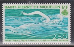 ST PIERRE & MIQUELON Scott # 449 MH - Montreal Olympics 1976 - Nuovi