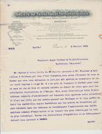 SUISSE: Sté TRANSPORTS INTx à Genève / Lettre De 1912 Pour Barbezieux - Schweiz