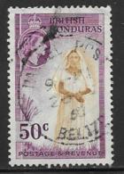 British Honduras Scott # 152 Used Maya, 1953 - Honduras Britannique (...-1970)