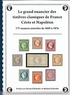 Nuancier De Couleurs Cérés Et Napoléon 1849 à 1876 Superbe. - Autres Livres