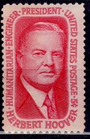 United States, 1965, Pres. Herbert Hoover, 5c, Sc#1269, MNH - Ungebraucht
