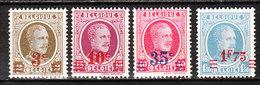 245/48**  Houyoux Surchargés - Série Complète - MNH** - COB 5 - Vendu à 12.50% Du COB!!!! - Unused Stamps