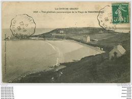 22 TRESTRIGNEL. La Plage 1908 - Autres Communes
