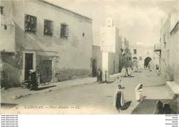 Promotion 2 Cpa KAIROUAN. Place Attalab Et Minaret Mosquée - Tunisia