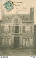 45 INGRE. Le Presbytère 1903 Avec Curé Ou Prêtre Minuscule Coupure 2mm - France