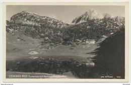 AK  Steinernes Meer Bei Berchtesgaden Funtensee Kärlingerhaus - Berchtesgaden