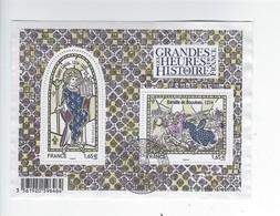 F 4857 Les Grandes Heures De L'histoire De France Oblitéré 1er Jour 2014 - Used
