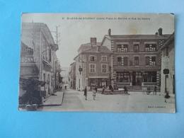 Saint Jean De Bournay  Place,du Marché Et Rue Centrale - Saint-Jean-de-Bournay