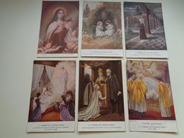 Beau Lot De 16 Cartes Postales De Fantaisie Sainte Thérèse  Mooi Lot Van 16 Postkaarten Fantasie St. Theresa - 5 - 99 Postcards