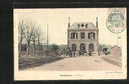 CPA Pontgouin, La Gare - Zonder Classificatie