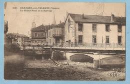 TH0661  CPA  GRANGES-sur-VOLOGNE  (Vosges)  Le Grand Pont Et Le Barrage   +++++ - Granges Sur Vologne