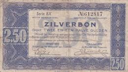 Pays-Bas - Billet De 2.50 Gulden - 1er Octobre 1938 - [2] 1815-… : Regno Dei Paesi Bassi