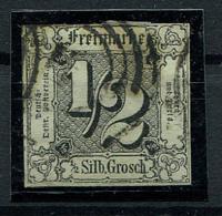 Thurn Und Taxis: 1/2 Sgr. MiNr. 3 1852-1858 Gestempelt / Used / Oblitéré - Thurn Und Taxis