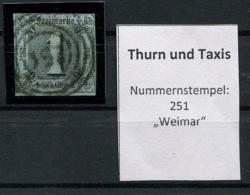 Thurn Und Taxis: 1 Sgr. MiNr. 9 1853 Gestempelt / Used / Oblitéré - Thurn And Taxis