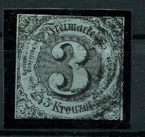 Thurn Und Taxis: 3 Kr. MiNr. 12 1853 Gestempelt / Used / Oblitéré - Thurn And Taxis