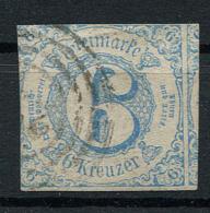 Thurn Und Taxis: 6 Kr. MiNr. 33 1862-1864 Gestempelt / Used / Oblitéré - Thurn And Taxis