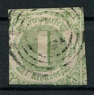 Thurn Und Taxis: 1 Kr. MiNr. 20 1859-1861 Gestempelt / Used / Oblitéré - Thurn And Taxis