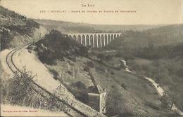 10248 CPA Souillac - Route De Martel Et Viaduc De Bramfond - Souillac