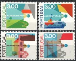 Portugal 1976. Mi.Nr. 1322y-25y, Perf. 12, Postfrisch **, MNH - Ungebraucht