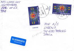 Hungary Cover Sent To Denmark 12-4-2011 - Lettere