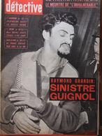 Détective N°716 (18 Mars 1960) Procès Hervy - Jacques Dupont - Naufragés De La Baixas - Altri