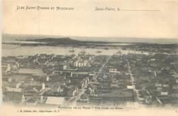 France - Saint-Pierre Et Miquelon - St.-Pierre - Panorama De La Ville  - Vue Prise Du Nord - Saint-Pierre-et-Miquelon