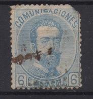 1872 REINADO AMADEO I EDIFIL 119(º) V.CATALOGO 78€ - 1870-72 Reggenza