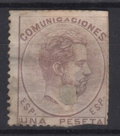 1872 REINADO AMADEO I EDIFIL 127T(º) - 1870-72 Régence