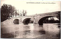 64 - SAUVETERRE De BEARN -- Le Pont Sur La Gave D'Oloron - Sauveterre De Bearn