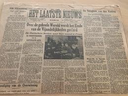 Het Laatste Nieuws - MEI 1945 - Terugkeer Van De Koning - Degrelle - Documenti Storici