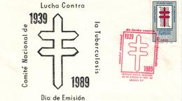 TBC Tuberkulose Lungenkrankheit Gefährliche Bakterielle Infektion - Mexiko 1939 - 1989 - Enfermedades